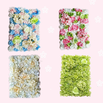 Flower Wall Simulation Background Wedding Event Decoration Flower Arches Silk flower photography props