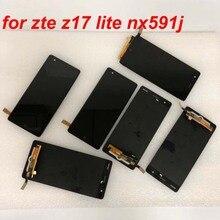 شاشة ZTE Nubia Z17 lite nx591J/ Z17 NX563J, شاشة اختبار LCD جديدة 100% ٪ لـ ZTE Nubia Z17 lite nx591J/ Z17 NX563J شاشة عرض LCD تعمل باللمس مجموعة أجزاء محول الأرقام