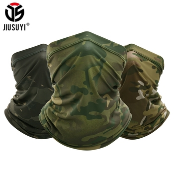 Military Tactical Bandana Summer Face Scarves Tubular Head Mask Scraf Camo Anti-UV Windproof  Soft Neck Gaiter Cover Men Women - discount item  35% OFF Scarves & Wraps