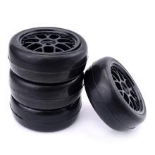 4Pcs 1/10 Drift Car Wheels Rim and Tires for HSP HPI LRP Redcat Taxxas Team Hongnor 1/10 on-road car цена 2017
