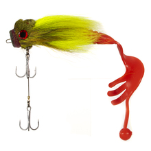 Mice Fishing Lure Resin Mouse Bait Freshwater Saltwater Pike Soft Fly Lures With Dual Hooks
