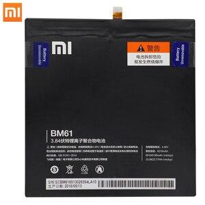 Image 3 - Xiao Mi Tablet Vervangende Batterij BM61 Batterij Voor Xiaomi Pad 1 2 Voor Mipad 1 2 7.9 Inch A0101