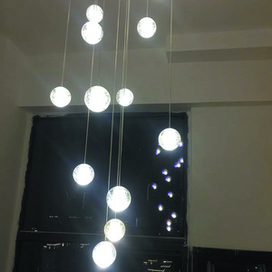 Image 4 - Modern G4 LED Pandant Lights Multiple Staircase Lamps Fixtures Fashion Living Bedroom Decora Restaurant Dining Kitchen Lighting