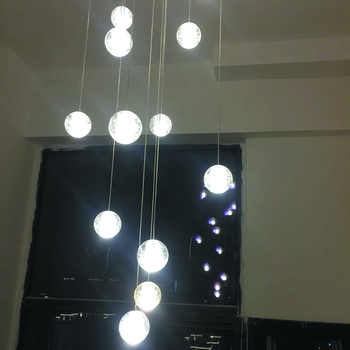 Modern G4 LED Pandant Lights Multiple Staircase Lamps Fixtures Fashion Living Bedroom Decora Restaurant Dining Kitchen Lighting