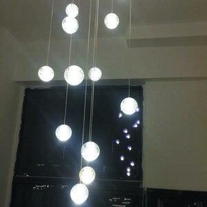 Image 4 - Moderna G4 LED Pandant Lights lampade Multiple per scale infissi moda soggiorno camera da letto Decora ristorante sala da pranzo illuminazione della cucina