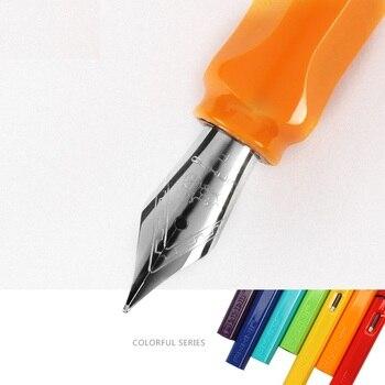 9 color Fountain pen Colorful Iraurita metal Fountain ink pens Jinhao Stationery Office school supplies Canetas escolar FB640