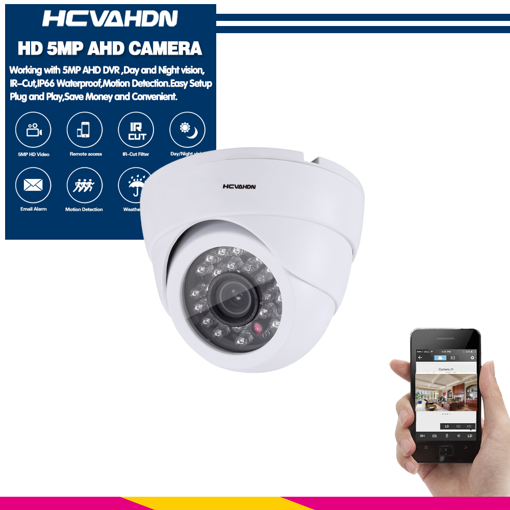Day Night Vision HD Security Camera 960P TVI AHD CVI Outdoor CCTV Surveillance