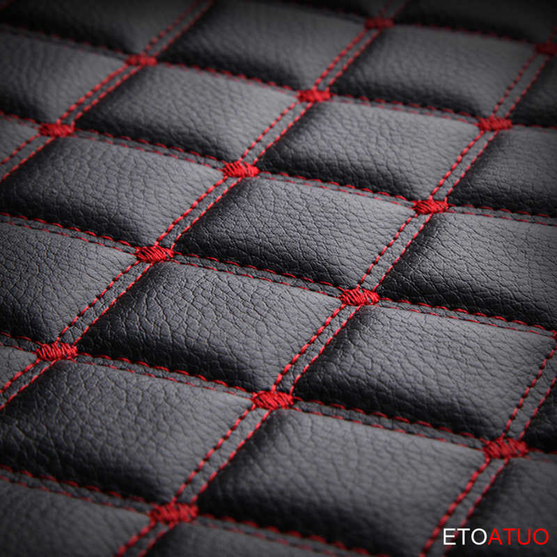 Full Coverage Eco-หนังครอบคลุมที่นั่งรถหนัง PU ที่นั่งสำหรับ Nissan Almera Leaf SENTRA Tiida Teana GTR Juke dualis