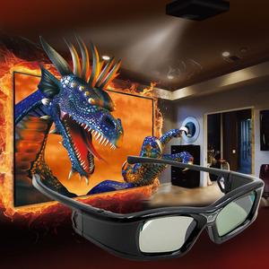 Image 4 - GL410 3D משקפיים עבור מקרן מלא HD פעיל DLP קישור משקפיים עבור Optama Acer BenQ ViewSonic חד Dell DLP קישור מקרנים