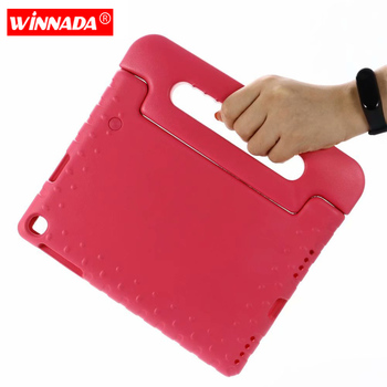 For Samsung Galaxy Tab A 10.1 2019 Case Kids SM-T510 T515 Shockproof EVA Full Body Cover Handle Stand Case Children Safe Fundas
