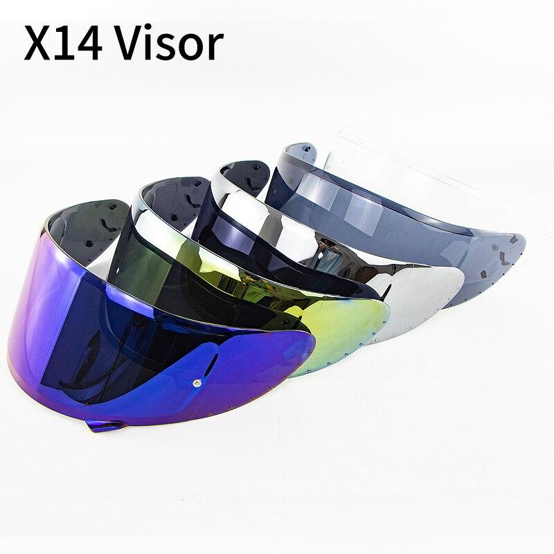 Helmet Visor For X14 Z7  Z-7  CWR-1  NXR  RF-1200  X-spirit Model Motorcycle Helmet Visor X14 Motor Bike Accessories Parts