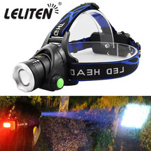 Camping Headlamp Bicycle-Light-Torch Zooming Portable Xml-T6 Led L2 V6