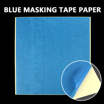 3D Printer Part Blue Masking Tape Paper Heated Bed Platform Sticker High Temperature Polyimide Adhesive Textured Paper 210*200mm image