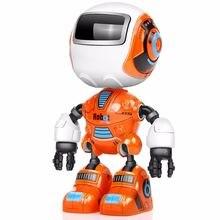 Умный мини робот из сплава электрическая робототехника экшн