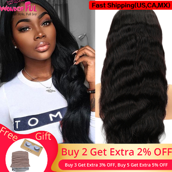 WA...WONDERFUL Body Wave 13X4 Lace Front Wig 360 Lace Wig Remy Human Hair Wigs Natural Color 8-28 30Inch  WH 13X4 LACE BODY WAVE wa wonderful body wave 13x4 lace front wig 360 lace wig remy human hair wigs natural color 8 28 30inch wh 13x4 lace body wave