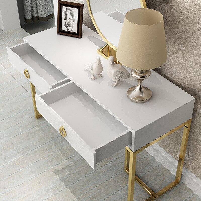 Phenomenal Hot Promo Custom Modern Golden Iron Metal Wooden Dresser Short Links Chair Design For Home Short Linksinfo