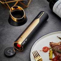 Electric Wine Bottle Opener with Smart USB Charging Base Portable Household Corkscrew Electric Sober Up Decanter Bar Tool Gift