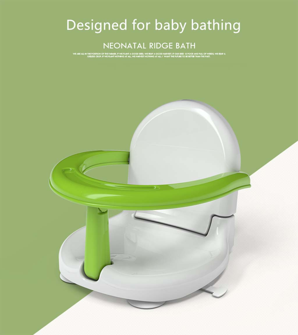 Multifunctional Baby shower seat  Eating safety chair Shower Portable Folding Non-slip Safety Toy child Chair Bath Seat Support