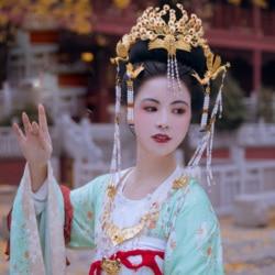 Feng Que Xian Lyz Traditionele Unieke Kunstwerk Hanfu Haaraccessoires Prinses Pauw Haar Tiara Hand Gesneden Haar Sieraden
