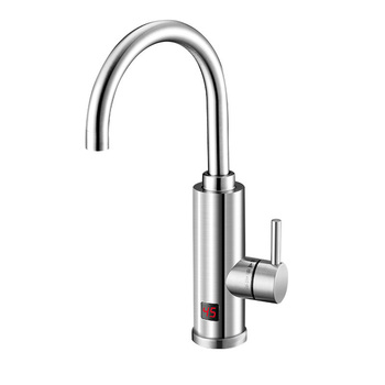 The New Energy-saving Intelligent High-tech Digital Display Kitchen Bathroom Is The Hot Province Sink Speed Hot Electric Faucet