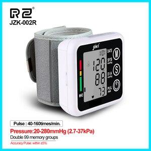 Image 1 - Ev sağlık tansiyon aleti kan basıncı ölçer monitör kalp hızı darbe taşınabilir akıllı kan basıncı ölçer JZK002R