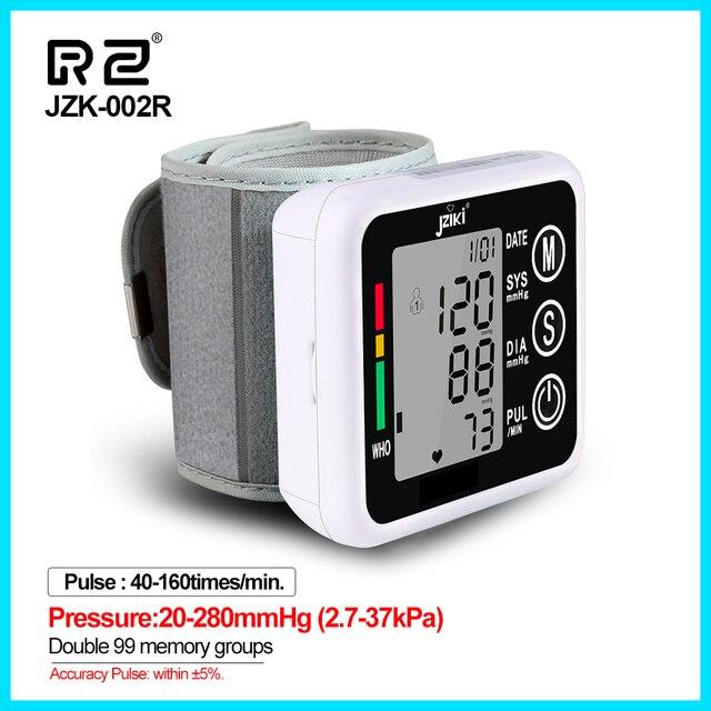 Ev sağlık tansiyon aleti kan basıncı ölçer monitör kalp hızı darbe taşınabilir akıllı kan basıncı ölçer JZK002R