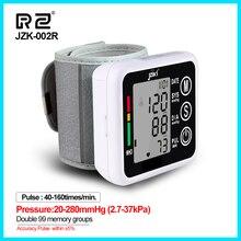 Gospodarstwa domowego opieki zdrowotnej Sphygmomanometer miernik ciśnienia krwi Monitor pulsometr przenośny inteligentny ciśnieniomierz JZK002R