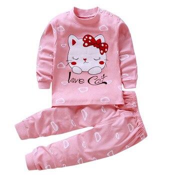 0-24M Baby Clothing Sets Autumn Baby boys Clothes Infant Cotton Girls Clothes 2pcs newborn baby Underwear Kids Clothes Set - A, 3M
