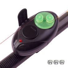 Электронный сигнализатор поклевки со звуком светодиодный индикатор