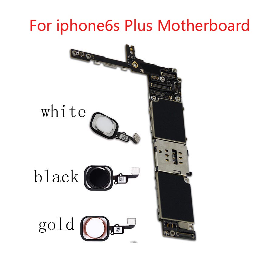 100% tested Original Unlocked Motherboard for iphone6s Plus <font><b>6S</b></font>+ Motherboard <font><b>with</b></font> <font><b>Touch</b></font> <font><b>ID</b></font> Function <font><b>logic</b></font> <font><b>board</b></font> quality plate image