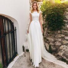 Modesr трапециевидной формы свадебные платья 2021 простая Кепка