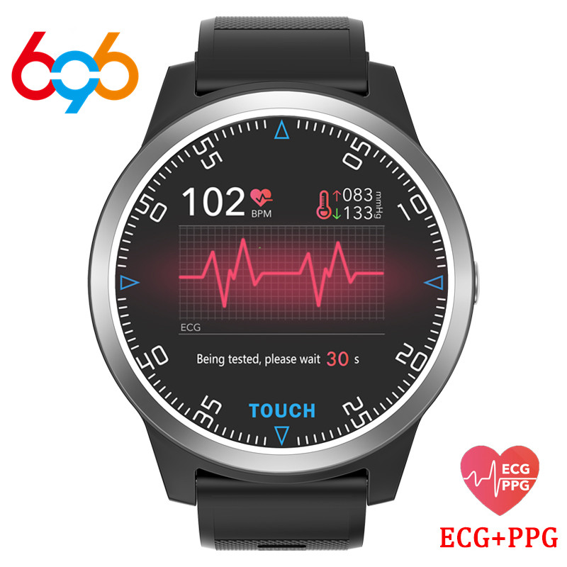 696 E101 Sports Wristwatches PPG ECG Blood Pressure Fitness Tracker Heart Rate Monitor Pedometer Men Women Smart Bracelet|Smart Wristbands| |  - title=