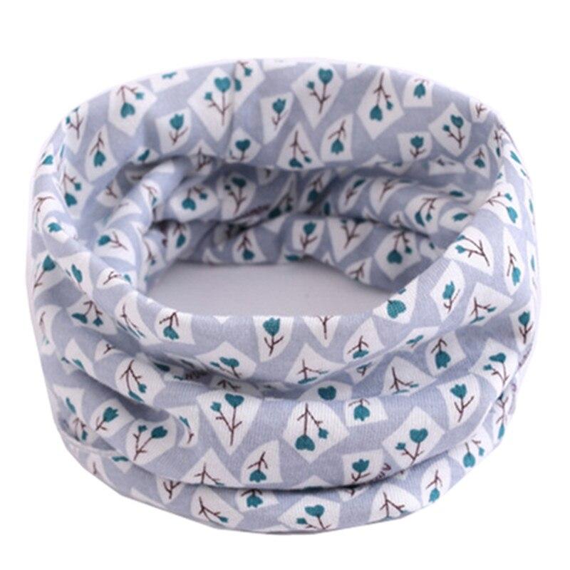 Весенне-осенне-зимний детский хлопковый шарф для От 0 до 10 лет, Детские шарфы с героями мультфильмов, модный теплый воротник - Цвет: 63
