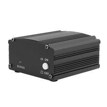 FFYY-подходит для микрофона Bm 800 48 В фантомное питание для конденсаторного микрофона оборудование для записи музыки с адаптер XLR аудио