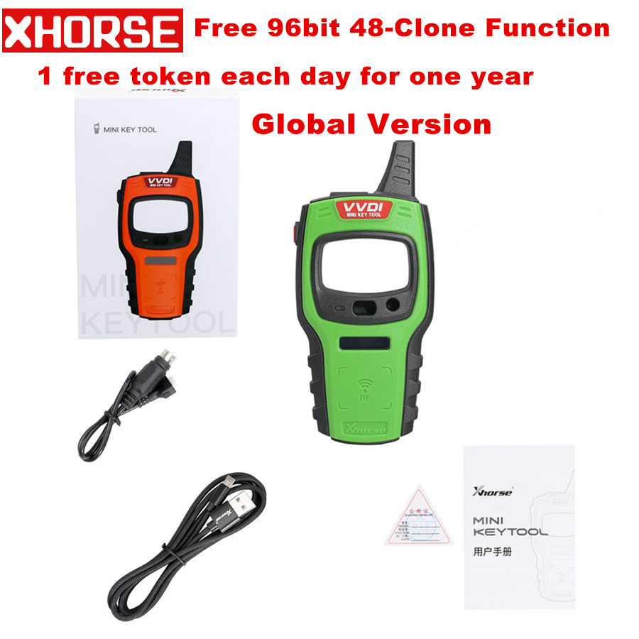 Global Version Xhorse VVDI Mini Key Tool Remote Key Programmer Support IOS/Android Replace Of VVDI Key Tool