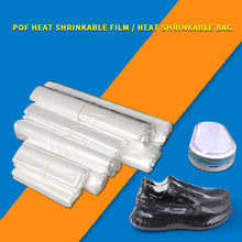 Sac de rangement à Film thermorétractable, sac d'emballage de détail, sac en plastique transparent, sac de rangement à Film thermorétractable POF 200 pièces/lot