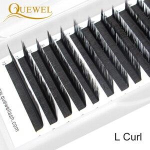 Image 2 - Estensione ciglia Individuale Naturale Morbido Lash L/L +/LC/LD/DD Per I Professionisti Quewel Occhio ciglia Russia volume Ciglia di Seta