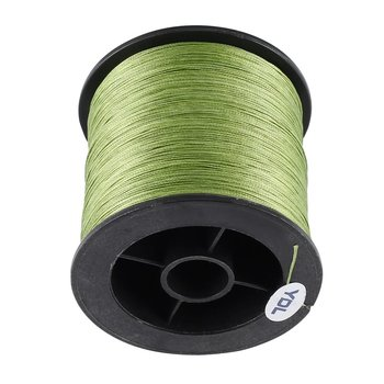 300m Fishing Line PE Braided Strong Horse Main 8 Strands Multifilament army green