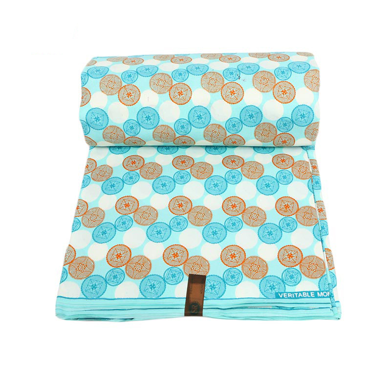 Nigerian Fabrics Holland Polyester Print Ankara High Quality Veritable Wax 2019 Pagne Africain Dutch Batik Cloth