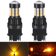2X 3157 LED T20 P21W 1156 7443 7440 Bau15s Bulb Car turn signal Light 12v For Peugeot 307 206 308 407 207 3008 2008 406 208 508