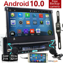 Single 1 DIN Mobil Stereo Radio Android 10 GPS Navi WiFi DAB + Head Unit DVD Player()