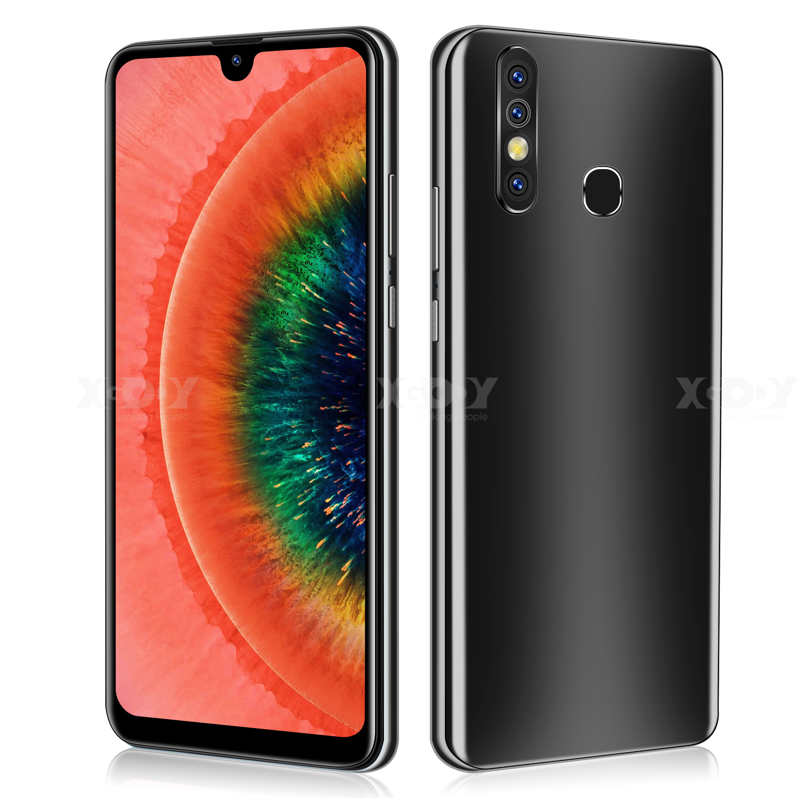 "XGODY A70s 3G Smartphone 7.2""  Android 9.0 1GB RAM 4GB ROM 5MP Camera Quad Core Dual SIM GPS WiFi Mobile Phones CellPhone 5"