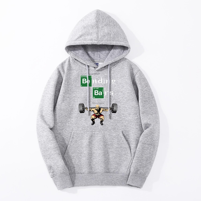 Breaking Bad Walter White Gym Motivation Hoodies Men 2019 Spring Autumn Men Sweatshirt Fleece High Quality Hip Hop Hooded Jacket