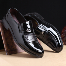 shoes men male leather New England business suit young mens autumn dress calfskin manufacturing comfort