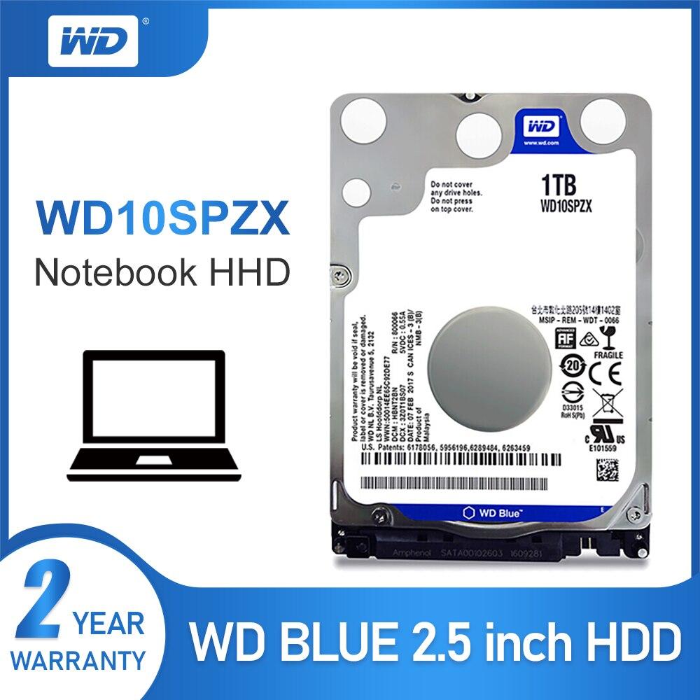 """Western Digital WD WD10SPZX 2.5/"""" 1TB SATA III 6Gb//s 7mm 128MB Thin Hard Drive"""