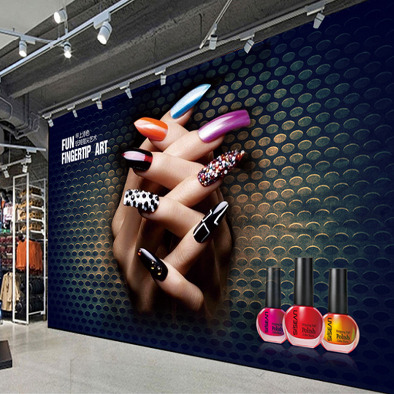 3d Health Museum Beauty Salon Wallpaper Nail Shop Background Wallpaper Clothing Store Warm Club Studio Personalized Murals Wallpapers Aliexpress