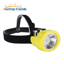 Hunting Friends Safety Mining Lamp White Light Rechargeable Headlamp Miners LED Coon Hunting Lights Waterproof & Explosion-Proof