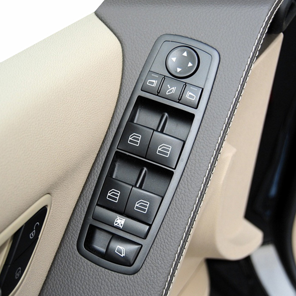 New Driver Side Power Window Master Switch For Mercedes Benz GL R Class ML350 W251 X164 2518300590 A 251 830 05 <font><b>90</b></font> A2518300590 image
