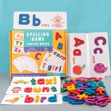 Board-Set for Children Learning-Developing-Toy Jigsaw Educational-Toys Montessori Alphabet