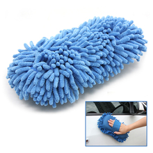 Newest Car Wash Glove Ultrafine Fiber Chenille Microfiber Auto Drying Mitt Home Cleaning Window Washing Car Care Detailing Tool
